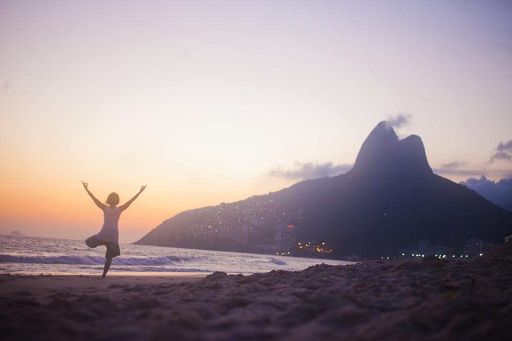 Heeki Park at Ipanema Beach, Rio do Janeiro