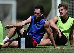 Greg Cunningham of Bristol City and Joe Bryan of Bristol City  - Photo mandatory by-line: Joe Meredith/JMP - Mobile: 07966 386802 - 17/07/2015 - SPORT - Football - Albufeira -  - Pre-Season Training