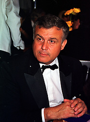 Racing driver PATRICK TAMBAY at a ball in West Sussex on 18th September 1999.MWL 78