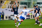 Paolo Garbisi (Italy) during the Autumn Nations Cup, rugby union Test match between Italy and Scotland on November 14, 2020 at the Artemio Franchi stadium in Florence, Italy - Photo Ettore Griffoni / LM / ProSportsImages / DPPI