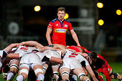 Bristol Rugby replacement Andy Uren looks on - Mandatory byline: Rogan Thomson/JMP - 13/11/2015 - RUGBY UNION - Kingspan Stadium - Belfast, Northern Ireland - Ulster Ravens v Bristol Rugby - The British & Irish Cup Pool 2.