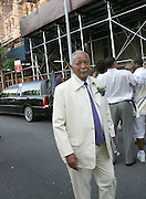 David Dinkins at the Celebration of the Life and Legacy of Dr. Barabara Ann Teer at the Memorial Service held at The Riverside Drive in Harlem, NY on Monday, July 28, 2008