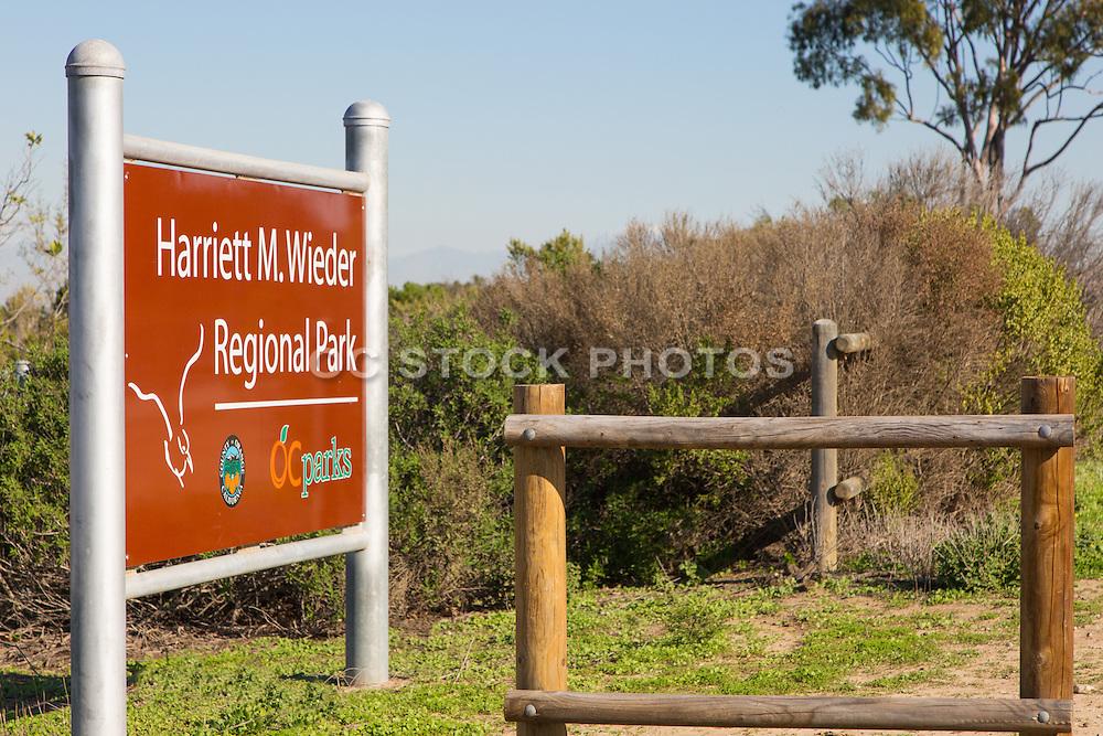 Harriet M. Wieder Regional Park of Orange County California