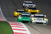 September 19, 2015: Tudor at Circuit of the Americas. #911 Tandy, Pilet, Porsche NA 911 RSR GTLM and the GTLM field