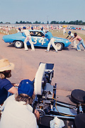 "Actor Beau Bridges on the set of the movie ""Greased Lightning"" in Georgia. Actor Beau Bridges on the set of ""Greased Lightning"" - the story of the first African American NASCAR driver - Wendell Scott."