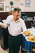 """Restaurante Regaleira, where the """"francesinha"""" sandwich was invented. Porto, Portugal"""