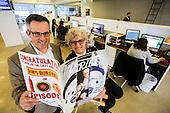 Andrew Wallenstein and Claudia Eller of Variety Magazine.