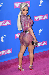 Blac Chyna arriving at the MTV Video Music Awards 2018, Radio City, New York. Photo credit should read: Doug Peters/EMPICS