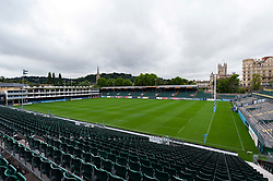 A general view of the Recreation Ground pitch, Bath Rugby were allowed to start Stage Two of the Premiership Rugby return to play protocol - Mandatory byline: Patrick Khachfe/JMP - 07966 386802 - 06/08/2020 - RUGBY UNION - The Recreation Ground - Bath, England - Bath Rugby training