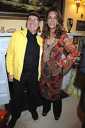 STEPHEN MAHONEY and MISS KOKOLY FALLAH at a party to celebrate the 21st birthday of one of Richard & Basia Brigg's horses held at 35 Sloane Gardens, London W1 on 10th September 2007.<br /><br />NON EXCLUSIVE - WORLD RIGHTS