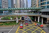 Chine, Hong Kong, Hong Kong Island, Connaught road // China, Hong-Kong, Hong Kong Island, Central, Connaught road
