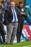 Peterborough United manager Steve Evans shouting instructions during the EFL Sky Bet League 1 match between Gillingham and Peterborough United at the MEMS Priestfield Stadium, Gillingham, England on 22 September 2018. Picture by Martin Cole
