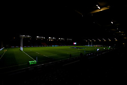 A general view of The Twickenham Stoop home to Harlequins ahead of the first game of the 2020/21 Gallagher Premiership season between Harlequins and Exeter Chiefs - Mandatory by-line: Robbie Stephenson/JMP - 20/11/2020 - RUGBY - Twickenham Stoop - London, England - Harlequins v Exeter Chiefs - Gallagher Premiership Rugby