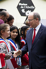 Prince Albert II Of Monaco Visiting Longjumeau - 19 June 2018