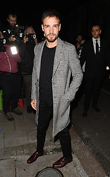 Celebrities attend the Vogue & Victoria Beckham Party, held at Mark's Club in Mayfair. 16 Sep 2018 Pictured: Liam Payne. Photo credit: Will / MEGA TheMegaAgency.com +1 888 505 6342
