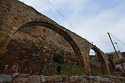 """An aquaduct in the ancient Hellenic city of Polyrinia, Crete. The place name means """"many sheep"""" and it was the most fortified city in ancient Crete."""