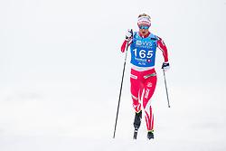 April 6, 2018 - Alta, NORWAY - 180406 Kathrine Rolsted Harsem competes in the Women's 5 km Classic during the Norwegian Championship on April 6, 2018 in Alta..Photo: Jon Olav Nesvold / BILDBYRÃ…N / kod JE / 160235 (Credit Image: © Jon Olav Nesvold/Bildbyran via ZUMA Press)