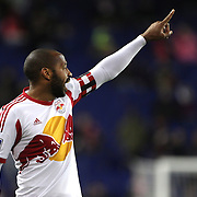 Thierry Henry, New York Red Bulls in action during the New York Red Bulls V Houston Dynamo, Major League Soccer regular season match at Red Bull Arena, Harrison, New Jersey. USA. 23rd April 2014. Photo Tim Clayton