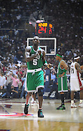 Kevin Garnett of the Boston Celtics..The Cleveland Cavaliers defeated the Boston Celtics 108-84 in Game 3 of the Eastern Conference Semi-Finals at Quicken Loans Arena in Cleveland.