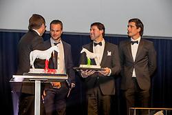 Horse of the Year,  H&M Harley van den Bisschop, Tom De Craene, Michel Haelterman, Ben Bevers, Nicola Philippaerts<br /> Equigala - Dockx Dome - Brussel 2019<br /> © Hippo Foto - Dirk Caremans<br /> 22/01/2019