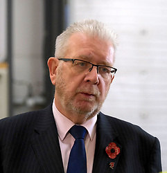 Helping Businesses Prepare For Brexit, Livingston, Thursday 1st November 2018<br /> <br /> Constitutional Relations Secretary Michael Russell launched a new dedicated online domain and a specially designed Brexit self-assessment tool in Livingston.<br /> <br /> The self-assessment tool will help businesses identify how Brexit might affect them, providing bespoke recommendations for action to help their planning activities. It will also be home to the Brexit toolkit, 15-point checklist, news, articles, access to experts and event listings.<br /> <br /> The launch was made during a visit to CSI Group (Complete Storage Interiors) in Livingston where Mr Russell talked to the company about the challenges Brexit poses for business, particularly SMEs.<br /> <br /> Pictured: Michael Russell<br /> <br /> Alex Todd   Edinburgh Elite media