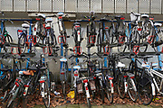 Volle fietsenstalling | Full bicycle shed