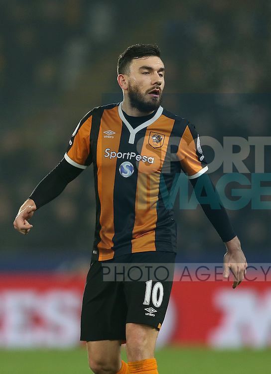 Robert Snodgrass of Hull City during the English Premier League match at the KCOM Stadium, Kingston Upon Hull. Picture date: December 30th, 2016. Pic Simon Bellis/Sportimage