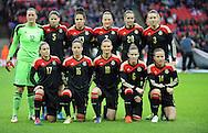 Germany Team Group<br /> - Womens International Football - England vs Germany - Wembley Stadium - London, England - 23rdNovember 2014  - Picture Robin Parker/Sportimage