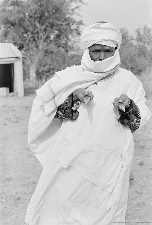 Hausa Man, Nigeria, Africa, 1937