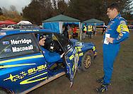 Dean Herridge & Glenn MacNeall.Subaru Impreza WRX.2003 Rally of Canberra .Canberra, ACT, Australia.25-27th of April 2003.(C) Joel Strickland Photographics