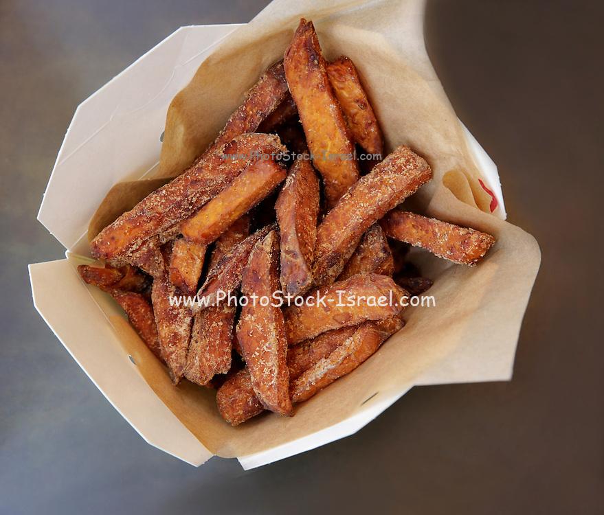Sweet Potato Chips Take away fast food