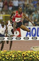 Friidrett<br /> TDK Golden League<br /> Ivo van Damme Memorial<br /> Brussel<br /> 03.09.2004<br /> Foto: PhotoNews/Digitalsport<br /> NORWAY ONLY<br /> <br /> SHAHEEN SAIF SAAEED<br /> Ny verdensrekord 3000 meter hinder