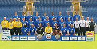 Fotball<br /> Bundesliga 2003/2004<br /> Foto: Vivien Venzke, Digitalsport<br /> <br /> FC Hansa Rostock<br /> <br /> hinten v.l.: Martin MAX, Antonio DI SALVO, Uwe MÖHRLE, Gernot PLASSNEGGER, Michal KOVAR, Gabriel MELKAM, Rade PRICA, Jochen KIENTZ, Delano HILL<br /> <br /> Mitte v.l.: Dr. Frank BARTEL Mannschaftarzt , Frank SCHELLER und Peter MEIER Physiotherapeuten, Andreas THIEM Zeugwart, Markus LANTZ, Thomas MEGGLE, Kevin HANSEN, Marco VORBECK, Joakim PERSSON, Magnus ARVIDSSON, Thomas SCHULTZ, Co-Trainer Juri SCHLÜNZ und Wolfgang FUNKEL, Torwart-Trainer Perry BRÄUTIGAM, Fussballtrainer Armin VEH<br /> <br /> vorn v.l.: Razudara TJIKUZU, Rene RYDLEWICZ, Carsten BUSCH, Mathias SCHOBER, Daniel KLEWER, Ronald MAUL, Gerd WIMMER