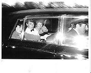 Natasha Fraser and Benjamin Fraser leaving a party  at dawn given by John Aspinall at Port Lympne. 1981. © Copyright Photograph by Dafydd Jones 66 Stockwell Park Rd. London SW9 0DA Tel 020 7733 0108 www.dafjones.com