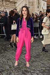 Rome, Piazza Del Campidoglio Event Gucci Parade at the Capitoline Museums, In the picture: Marianna Fontana