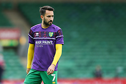 Lukas Rupp of Norwich City seen during the warmup - Mandatory by-line: Arron Gent/JMP - 24/10/2020 - FOOTBALL - Carrow Road - Norwich, England - Norwich City v Wycombe Wanderers - Sky Bet Championship