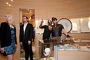ISABELLE MARINO; PETER MARINO, Louis Vuitton openingof New Bond Street Maison. London. 25 May 2010. -DO NOT ARCHIVE-© Copyright Photograph by Dafydd Jones. 248 Clapham Rd. London SW9 0PZ. Tel 0207 820 0771. www.dafjones.com.