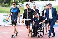 DETTIGabriele ITALIA, CIAMPIMatteo ITALIA, BORTUZZO MANUEL, GIORGETTI GIANCARLO, BARELLI PAOLO<br /> FIN 56 Trofeo Sette Colli 2019 Internazionali d Italia<br /> 21/06/2019<br /> Stadio del Nuoto Foro Italico<br /> Photo © Giorgio Scala, Deepbluemedia, Insidefoto