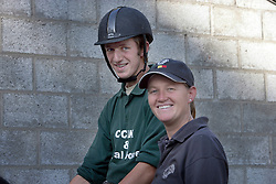 Martens Vincent - Donckers Karin<br /> Reportage trainer pupil - Stal Donckers Minderhout 2006<br /> Photo © Dirk Caremans
