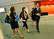 © Licensed to London News Pictures. 26/09/2011. LONDON, UK. Leader of the Labour Party, Ed Miliband at the Labour Party Conference in Liverpool today (26/09/11). Photo credit:  Stephen Simpson/LNP