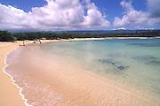 Beach at Moku Auia (goat island), Oahu, Hawaii<br />