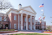 Prince Georges County Courthouse.