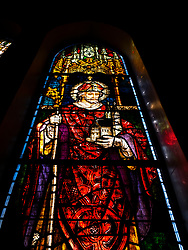 Stained Glass Window, St. Emmanuel Cathedral, Durban, South Africa