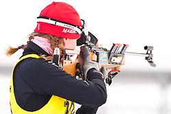 12.12.2010, Biathlonzentrum, Obertilliach, AUT, Biathlon Austriacup, Verfolgung Lady, im Bild Maryna Maskaleva (BLR, #108). EXPA Pictures © 2010, PhotoCredit: EXPA/ J. Groder