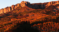 The Cimarron Range viewed from Owl Creek Pass.
