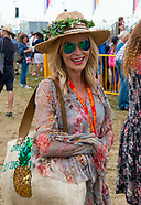 Amanda Holden at the Big feastival