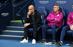 Manchester City manager Pep Guardiola - Mandatory by-line: Matt McNulty/JMP - 14/10/2017 - FOOTBALL - Etihad Stadium - Manchester, England - Manchester City v Stoke City - Premier League