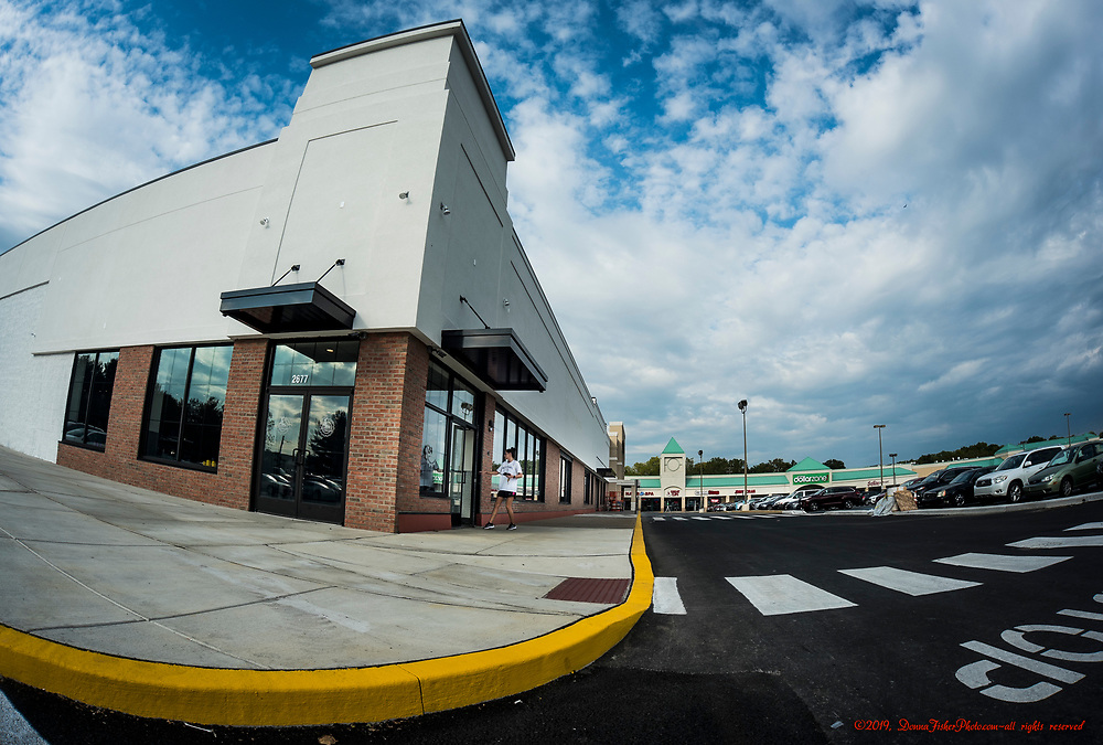 Planet Fitness now occupies the western part of the building that houses Burlington Coat Factory at 2677 MacArthur Road in Whitehall Twp., Lehigh County, Pa..  Picture made Sept. 9, 2019. Donna Fisher Photography, LLC