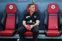 Guy Noves - 30.05.2015 - Toulouse / Oyonnax - Barrages Top 14<br />Photo : Manuel Blondeau / Icon Sport