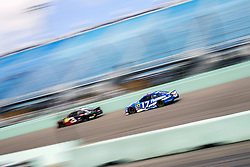 November 17, 2018 - Homestead, Florida, U.S. - Ricky Stenhouse, Jr (17) takes to the track to practice for the Ford 400 at Homestead-Miami Speedway in Homestead, Florida. (Credit Image: © Justin R. Noe Asp Inc/ASP)